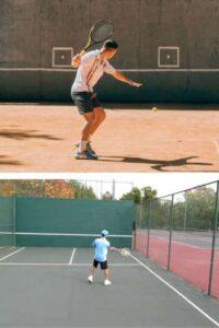 practice-tennis